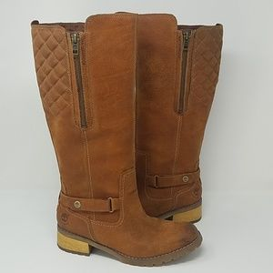 Timberland women 8 brown waterproof boots